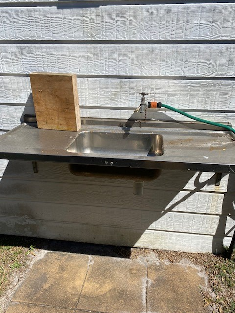 Fish Cleaning Bench